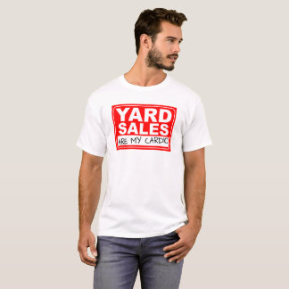 Yard Sale Cardio Tshirt