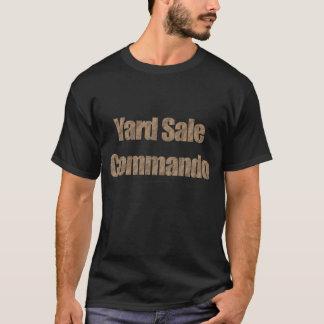 Yard Sale Commando #3 (Brown Paper Bag Text) T-Shirt