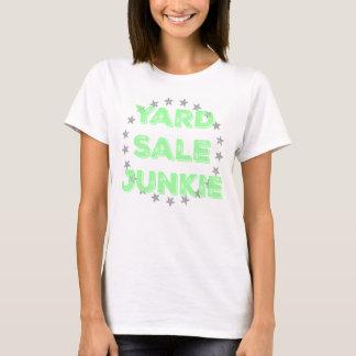 Yard Sale Junkie Pastel Tee Shirt