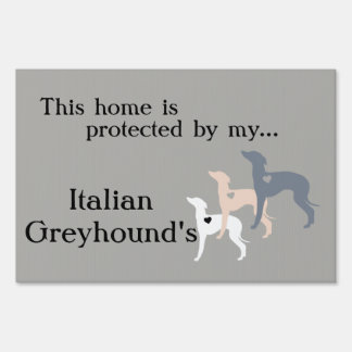 Yard Sign- Italian Greyhound yard sign