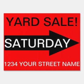 Yard Sign - YARD SALE!