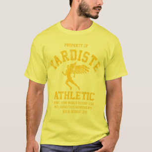 yardiste winged runner yellow new dist T-Shirt