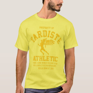 yardiste winged runner yellow new dist T-Shirt