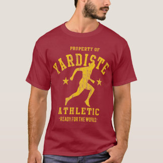 yardiste yellow 2012 athletic dept dist T-Shirt