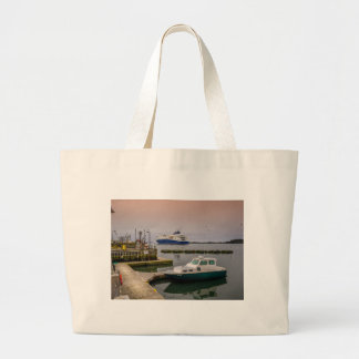 Yarmouth Ferry Large Tote Bag
