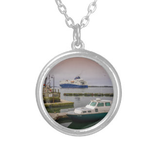 Yarmouth Ferry Silver Plated Necklace