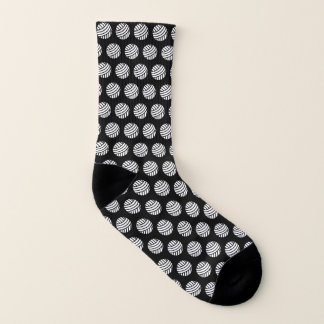 Yarn Ball Print Crafts Socks