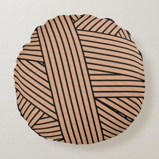 Yarn Ball Round Pillow