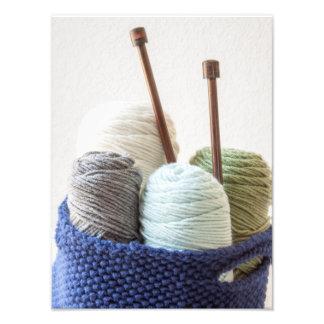Yarn Basket 1 Photo Print