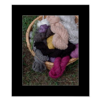 Yarn Basket Poster
