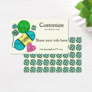 Yarn/Crochet/Knit Business Cards