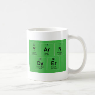 Yarn Dyer Periodic table Breaking Bad like Coffee Mug
