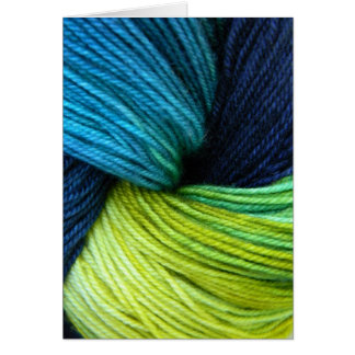 Yarn, Greeting card, Note card for knitters