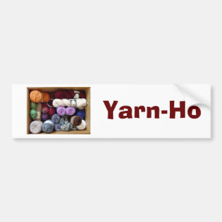Yarn-Ho Bumper Sticker