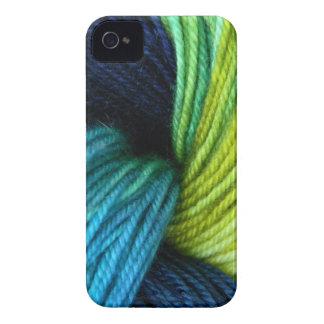 Yarn print, knitting, crochet iPhone 4 cover