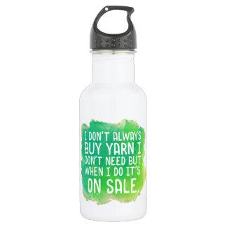 Yarn Sale Joke 532 Ml Water Bottle