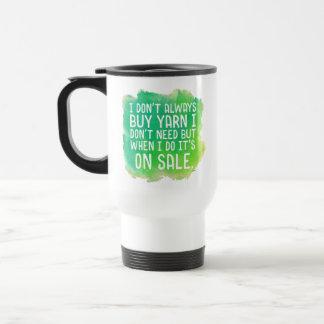 Yarn Sale Travel Mug