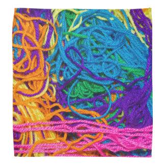Yarn Tangles Photo Bandana