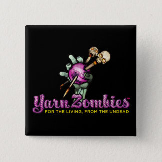 Yarn Zombies Logo Pin