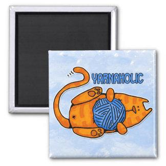 yarnaholic magnet