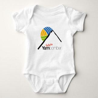 Yarnbombers BombSquad Baby Jersey Bodysuit