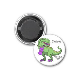 Yarnivore T-rex Magnet