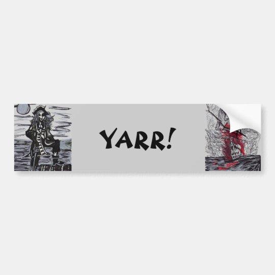 YARR! BUMPER STICKER
