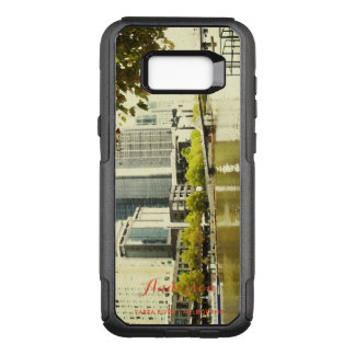 YARRA RIVER MELBOURNE PAINTING LEATHER MONOGRAM OtterBox COMMUTER SAMSUNG GALAXY S8+ CASE
