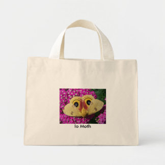 Yarrow Io Moth by Jocelyn Burke Mini Tote Bag