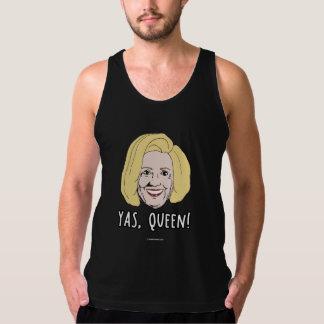 Yas Queen Hillary - Politiclothes Humor - Tank Top