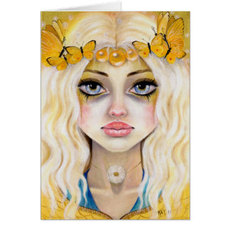 Yasi the Yellow Queen Card