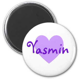Yasmin in Purple Magnet