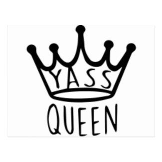 yass-queen postcard