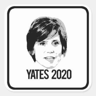 Yates 2020 - square sticker