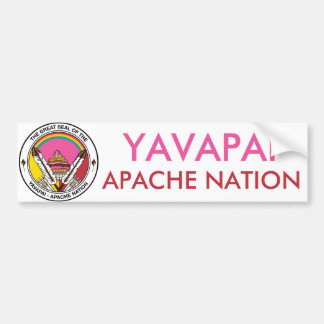 Yavapai Apache Nation Bumper Sticker