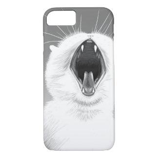 Yawning Cat iPhone 7 Case