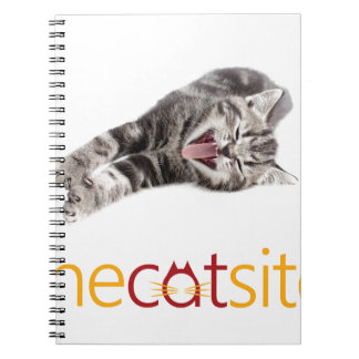Yawning or Laughing cat Notebook