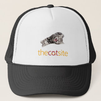Yawning or Laughing cat Trucker Hat