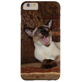 Yawning Siamese Cat Barely There iPhone 6 Plus Case