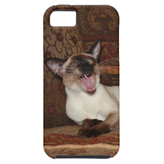 Yawning Siamese Cat Case For The iPhone 5