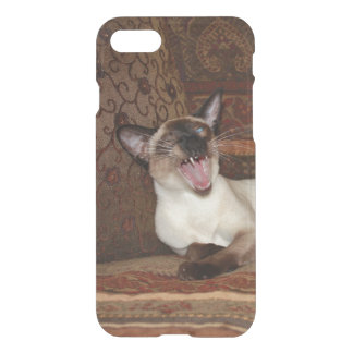 Yawning Siamese Cat iPhone 7 Case