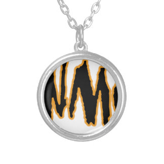 YaWNMoWeR LTTRng Silver Plated Necklace