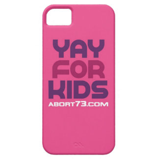 Yay for Kids / Abort73.com iPhone 5 Cover