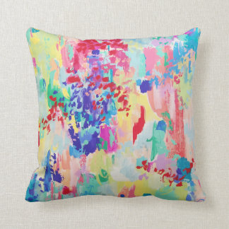 """Yay for Saturday!"" Throw Pillow"
