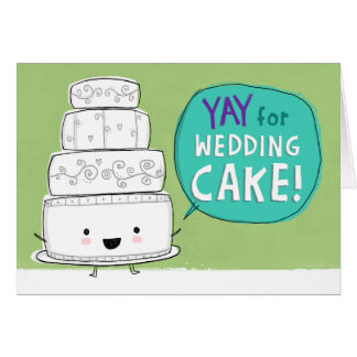 Wedding Congratulations greeting cards from Zazzle