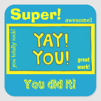 Yay You! Affirmation Stickers for Kids