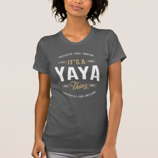 Yaya T-shirts Gifts