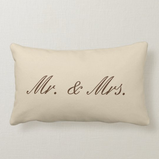 YazieDior & Co. Polyester Mr.&Mrs. Pillow (nude)