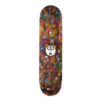 YB chameleon Custom Skateboard