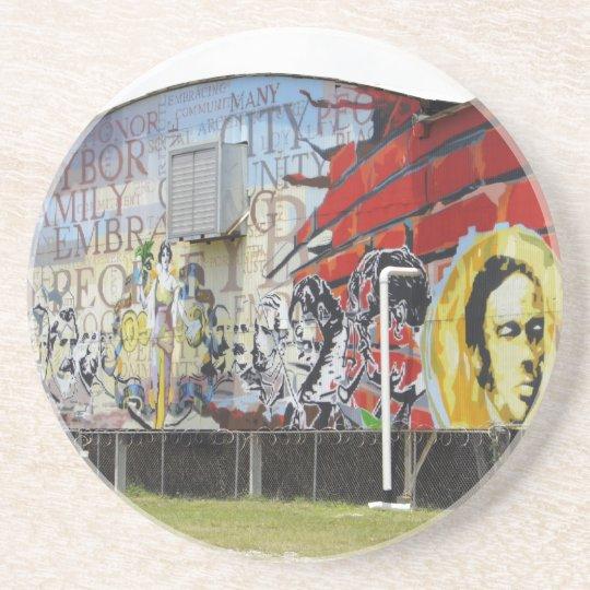 Ybor Mural Coaster